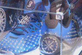 Бриллиантовые кроссовки помогут обуть бедных