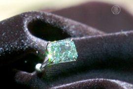 Зеленый бриллиант уйдет с молотка в Гонконге