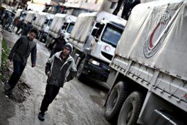 ООН призывает не блокировать гумконвои в Сирии
