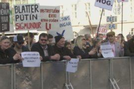 «Панамский скандал» привёл к протестам в Исландии