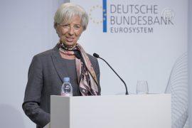 Глава МВФ: экономика восстанавливается медленно