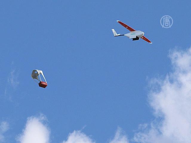 Дроны будут доставлять грузы в больницы Руанды
