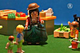 Кукла Чолита – изюминка выставки игрушек в Ла-Пасе
