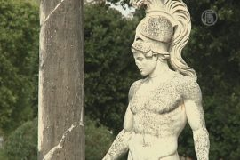 Сохранять древнюю виллу поможет спутник