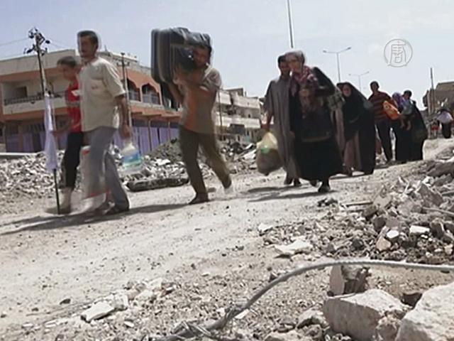 Из иракского Хита эвакуируют тысячи мирных жителей