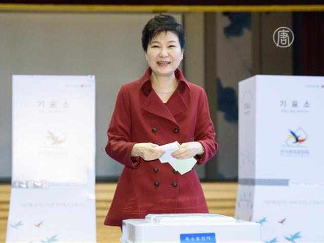 Правящая партия Южной Кореи проиграла оппозиции