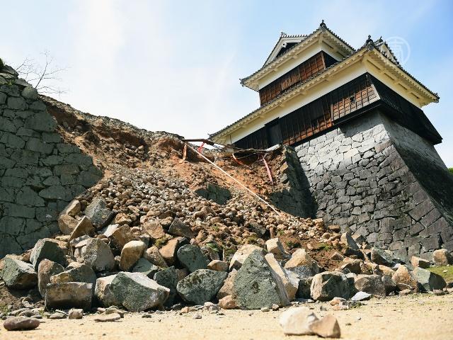 Мощные землетрясения в Японии, есть жертвы