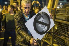Македонцы требуют отменить амнистию для политиков