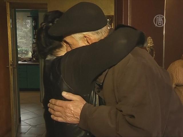 Поляк, спасший еврейку, навещает её уже 70 лет
