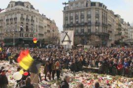 Тысячи бельгийцев провели марш против терроризма