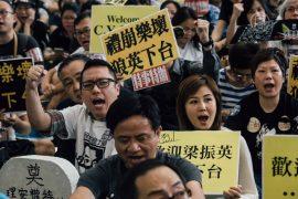 Дочь главы Гонконга разгневала общественность