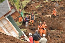 Землетрясения в Японии: поиск жертв продолжается