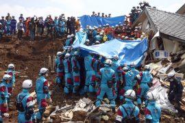 Япония: спасатели продолжают находить тела жертв