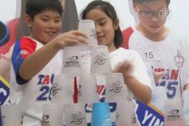 Юные тайваньцы оттачивают мастерство в капстекинге