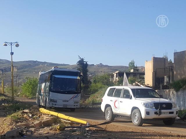 ООН эвакуирует 500 сирийцев из осаждённых городов