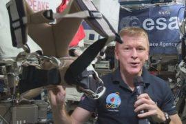 Астронавт поучаствует в марафоне из космоса