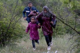 Беженцы ищут новые пути в Балканы