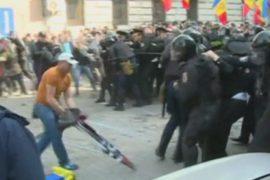 Кишинёв: протесты переросли в стычки