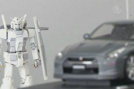 Японцы сделали суперкар в стиле робота из аниме