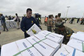 Боливия доставляет в Эквадор гуманитарную помощь