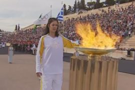 Бразилия получила олимпийский огонь