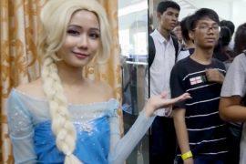 Косплей в Мьянме становится популярнее