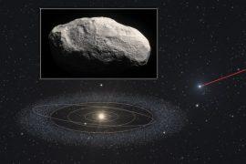 Учёные впервые обнаружили бесхвостую комету