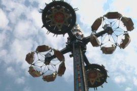 Новая 45-метровая карусель в парке Тиволи