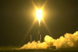 Ракета SpaceX запустила спутник и вернулась