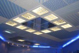 Подвесной потолок: как правильно выбрать материал и устроить каркас?