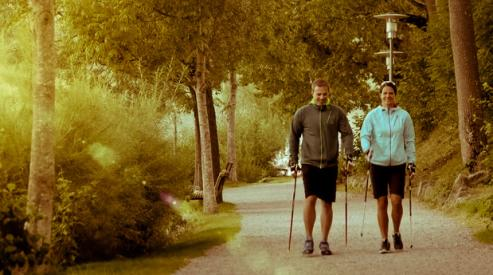 Скандинавская ходьба для здоровья нужна