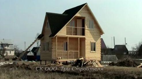 Чем выгоден дом из бруса?