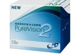 Вождение автомобиля в контактных линзах PureVision2 HD