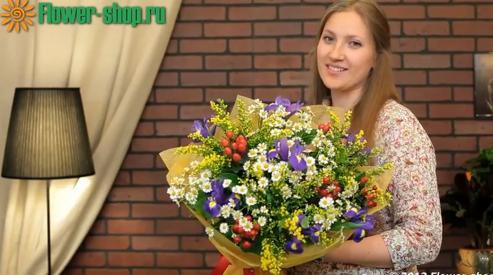 Цветы в Москве