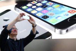 Новый сенсорный смартфон iphone 5S