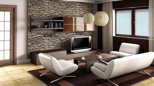 Современные системы хранения и оформление окон в жилых интерьерах