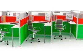 Офисные перегородки — новое архитектурное решение офисных помещений