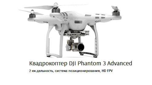 Новая линейка квадрокоптеров DJI Phantom 3 – безусловный прогресс в мире беспилотников