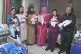 4 пары близнецов родились в один день в Израиле