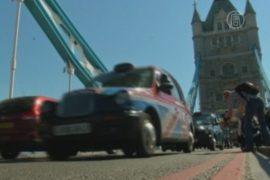 Лондонские таксисты провели «олимпийский» протест