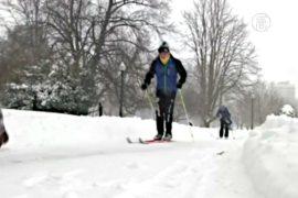 Что принесли американцам снегопады