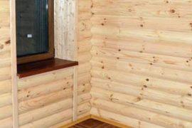 Горбыль и блок-хаус – применение в строительстве домов