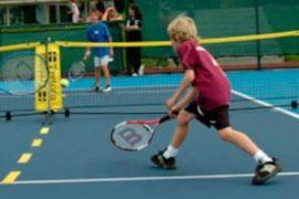 Детский большой теннис