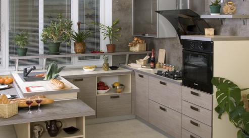Кухни различных стилей