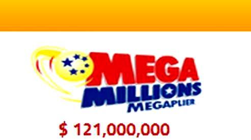 Майский розыгрыш лотереи Мегамиллионы размером в 121 миллион долларов