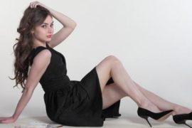 Платье в стильном гардеробе женщины