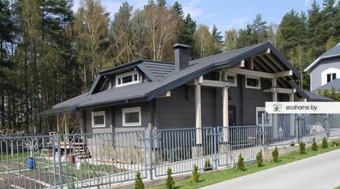 Интересные проекты деревянных домов