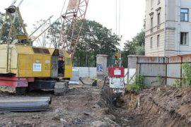 Вибропогружатели в городском строительстве