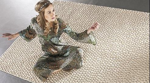 Уникальные ковры ручной работы — объекты дизайнерского искусства