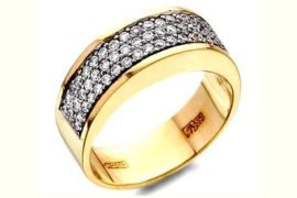 Особенности выбора кольца с бриллиантом